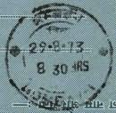 Carried by Hover Craft from Philatelic Bureau, Bombay GPO to Destination PO in Bombay