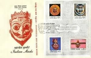 Indian Masks (Used in Dance Dramas)