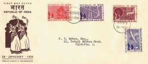 Inauguration of Republic of India - Long Cover