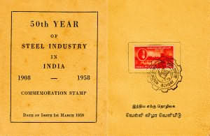 50th Year of Steel Industry in India