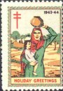 Lady carrying child with waterpot on her head