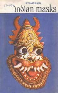 Stamps on Indian Masks