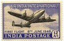 Inauguration of India-UK Air Service